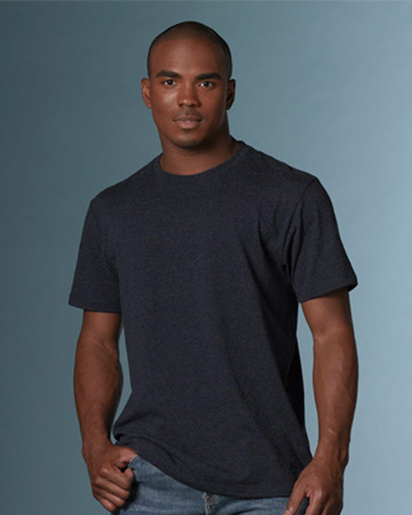 James Tri-Heather Tee-MV Sport-Pacific Brandwear