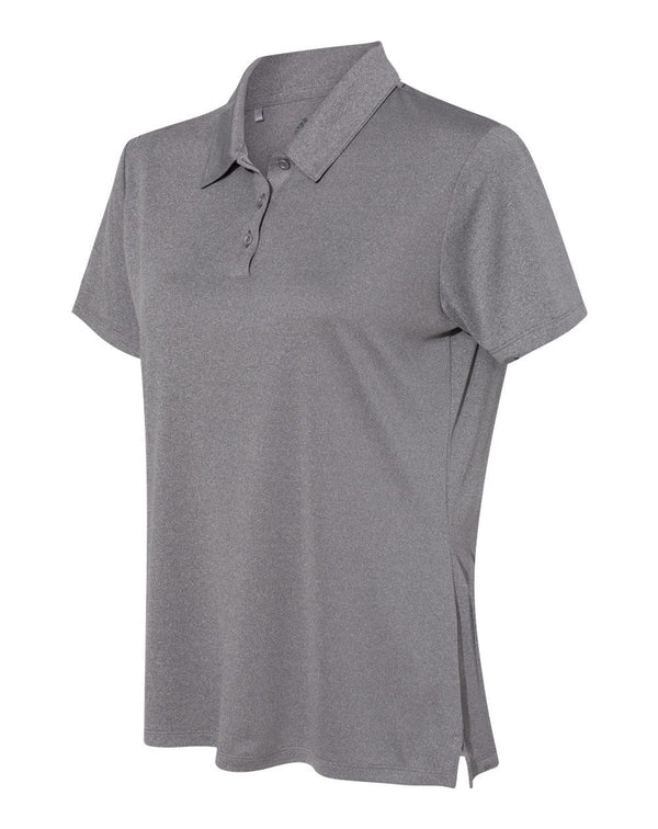 Adidas Women's Heathered Sport Shirt-Adidas-Pacific Brandwear