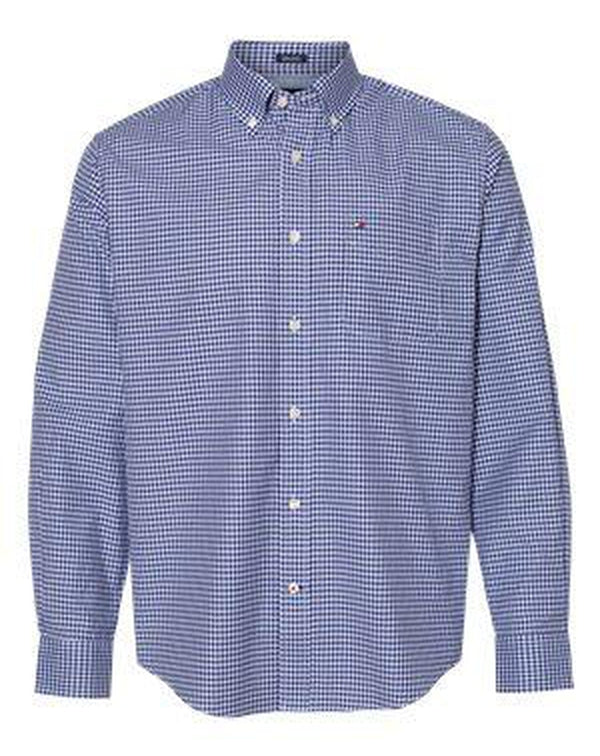 100s Two-Ply Gingham Shirt-Tommy Hilfiger-Pacific Brandwear