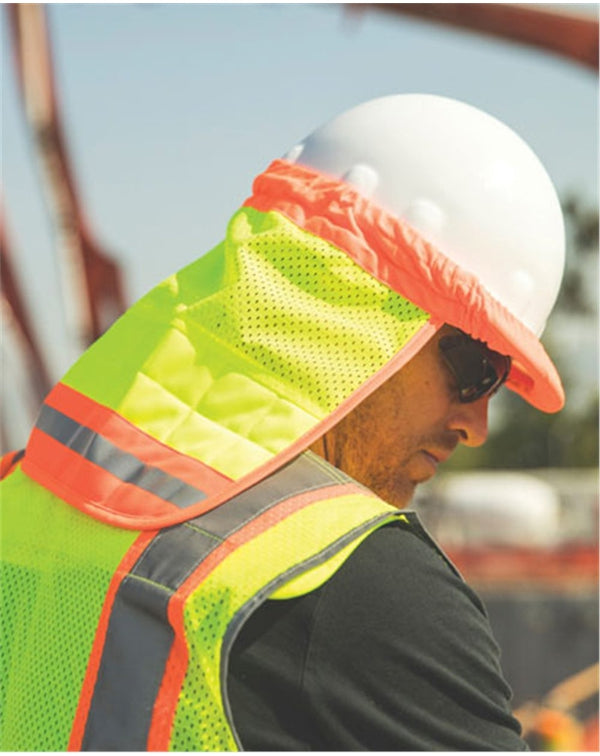 Brisk Cooling Hard Hat Sun Shield-ML Kishigo-Pacific Brandwear