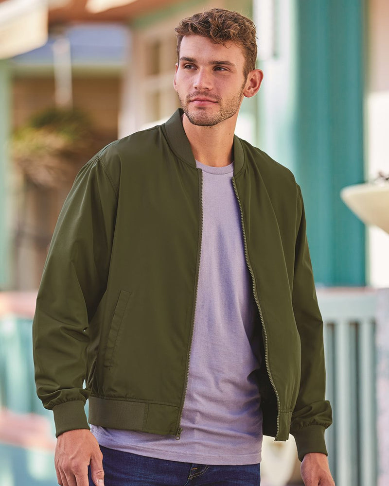Lightweight Bomber Jacket-Independent Trading Co.-Pacific Brandwear