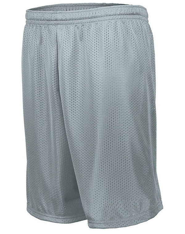 Longer Length Tricot Mesh Shorts-Augusta Sportswear-Pacific Brandwear