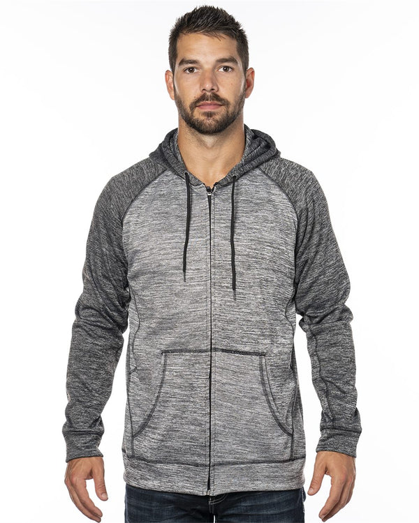 Performance Raglan Hoodie-Burnside-Pacific Brandwear
