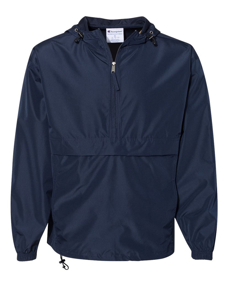 Packable Quarter-Zip Jacket-Champion-Pacific Brandwear