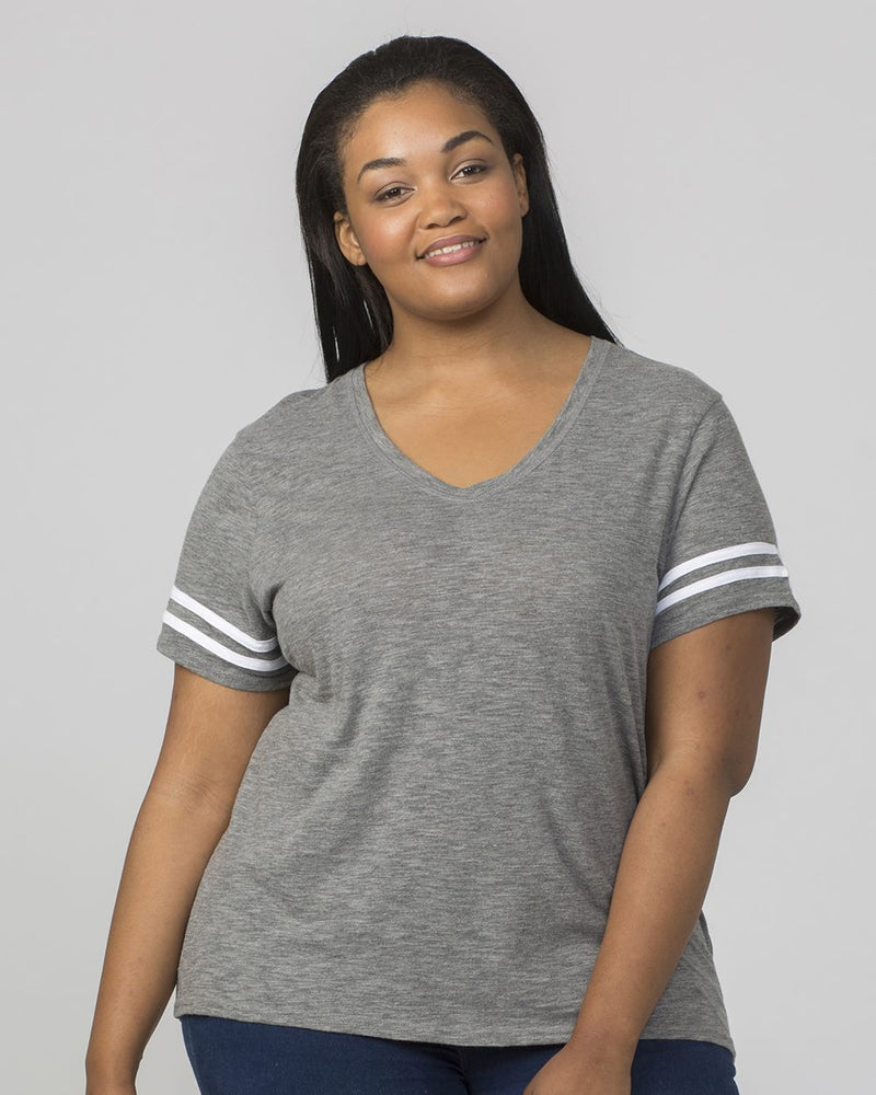 Women's Plus Size Sporty Slub T-Shirt-Boxercraft-Pacific Brandwear