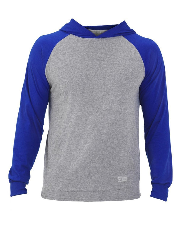 Jersey Pullover Hooded Raglan-Russell Athletic-Pacific Brandwear