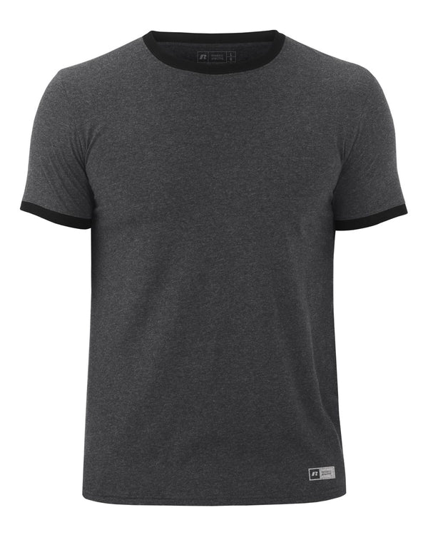 Short sleeve Ringer T-Shirt-Russell Athletic-Pacific Brandwear