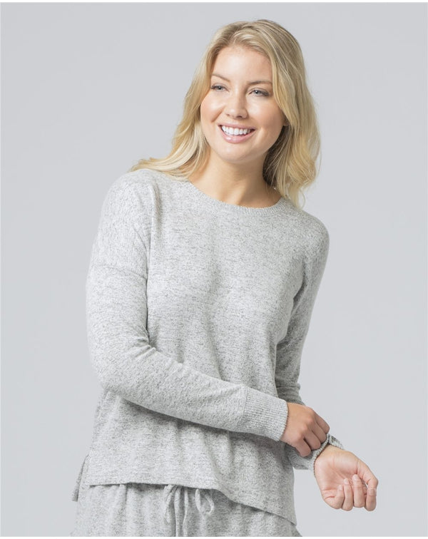 Women's Cuddle Fleece Boxy SweatShirt-Boxercraft-Pacific Brandwear
