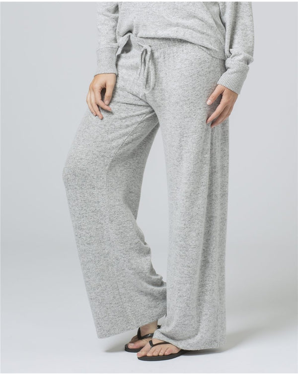 Women's Cuddle Fleece Wide Leg Pants-Boxercraft-Pacific Brandwear