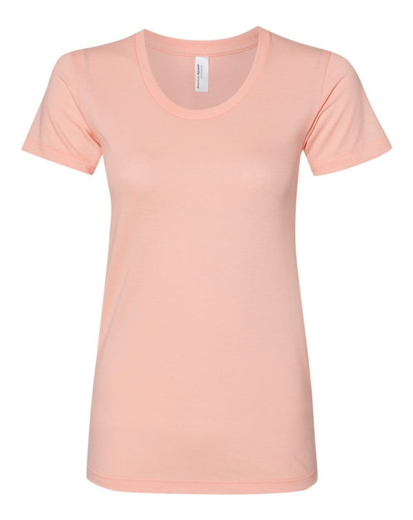 Women's 50/50 Tee-American Apparel-Pacific Brandwear
