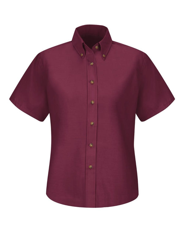 Red Kap Women's Poplin Dress Shirt-Red Kap-Pacific Brandwear