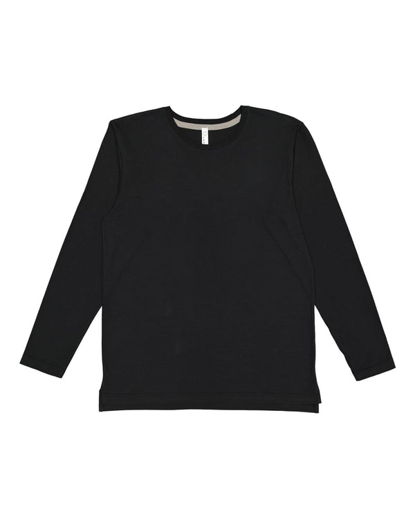 Forward Shoulder Long sleeve Fine Jersey Tee-LAT-Pacific Brandwear