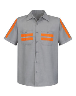 Red Kap Enhanced Visibility Industrial Work Shirt-Red Kap-Pacific Brandwear