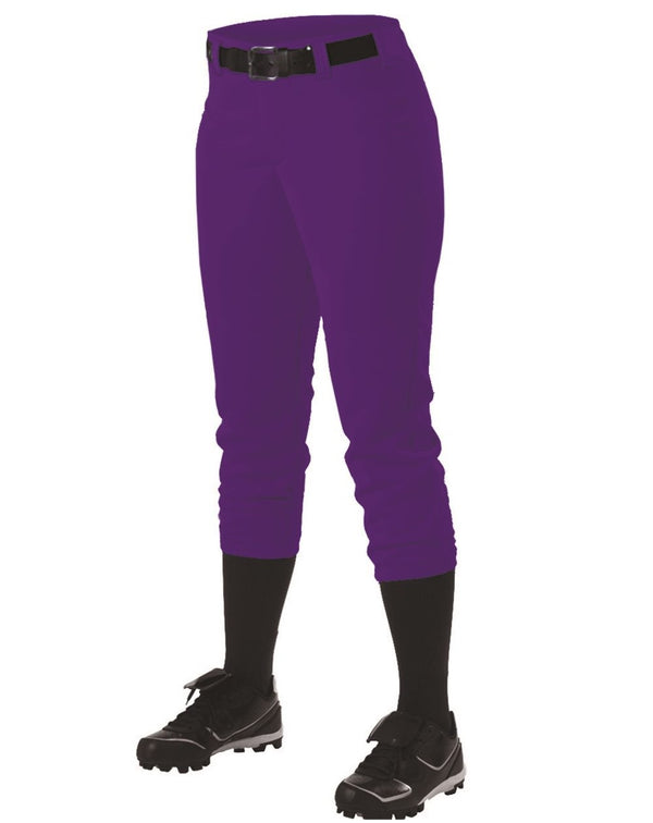 Girls' Belt Loop Fast-Pitch Pants-Alleson Athletic-Pacific Brandwear