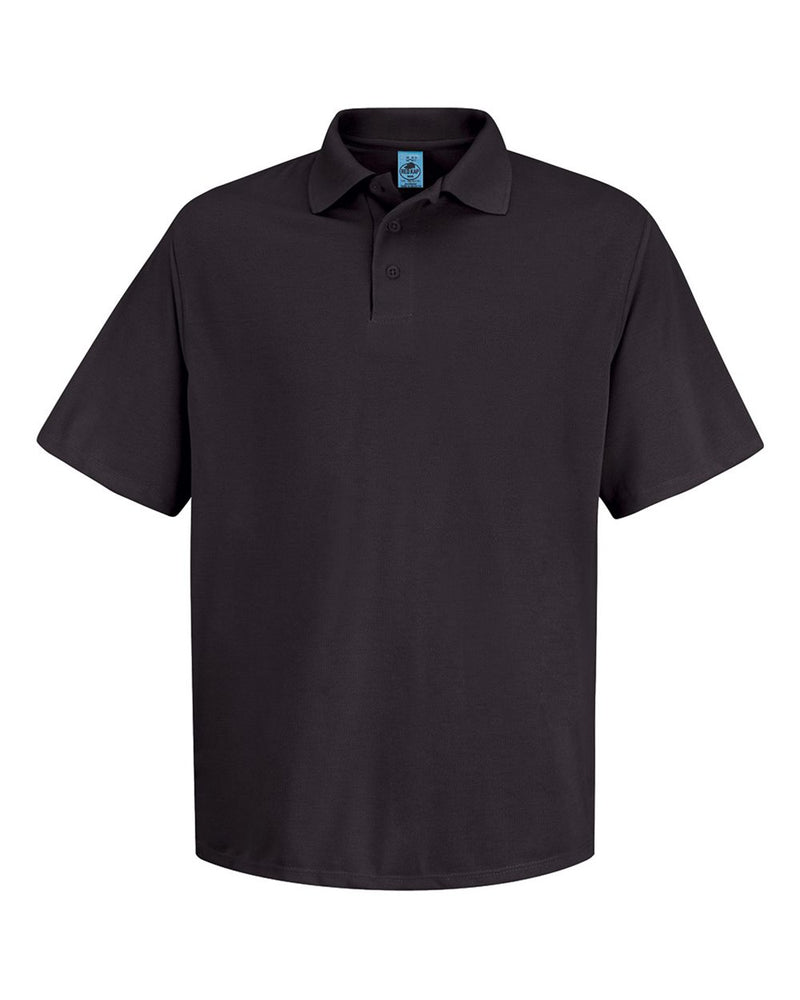 Short sleeve Spun Polyester Pocketless Polo-Red Kap-Pacific Brandwear
