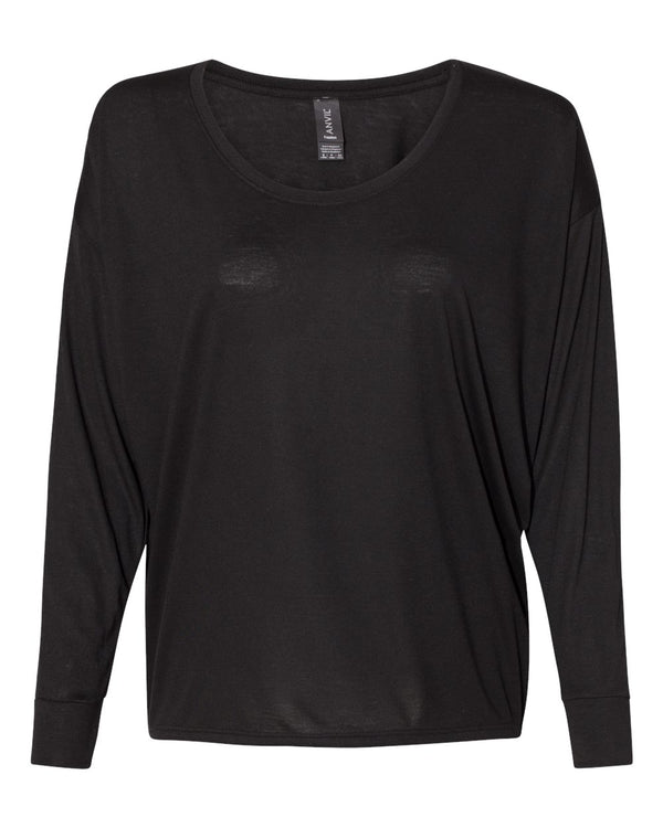 Women's Freedom Long sleeve T-Shirt-Anvil-Pacific Brandwear