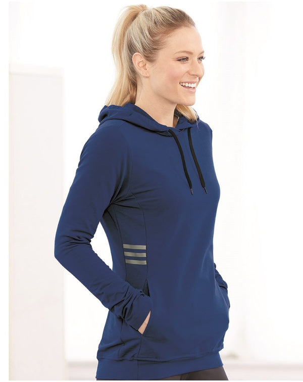 Women's Lightweight Hooded SweatShirt-Adidas-Pacific Brandwear
