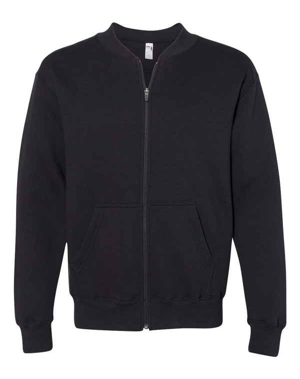 Hammer Fleece Full-Zip Sweatshirt-Gildan-Pacific Brandwear