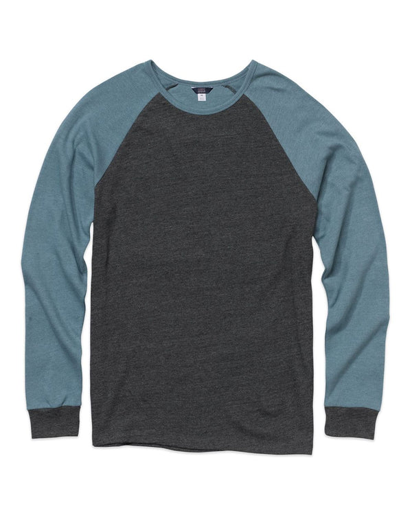 Home Plate Long sleeve Tee-MV Sport-Pacific Brandwear