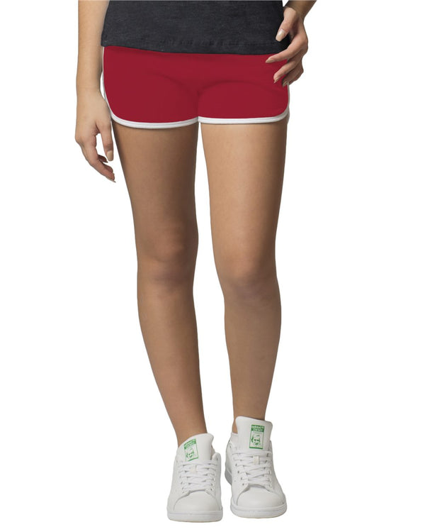 Girls' Relay Shorts-Boxercraft-Pacific Brandwear