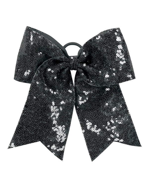 Sequin Cheer Hair Bow-Augusta Sportswear-Pacific Brandwear