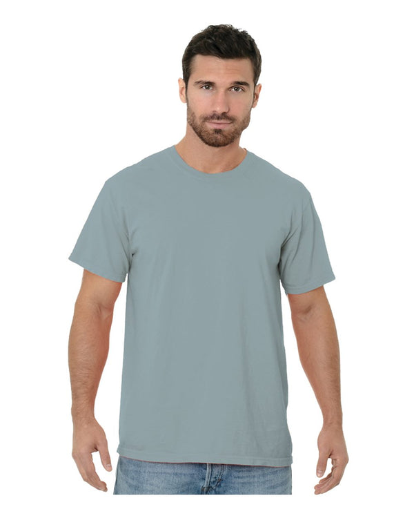 Garment Dyed Crew T-Shirt-Bayside-Pacific Brandwear