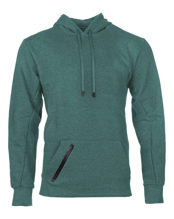 Cotton Rich Hooded Pullover Sweatshirt-Russell Athletic-Pacific Brandwear