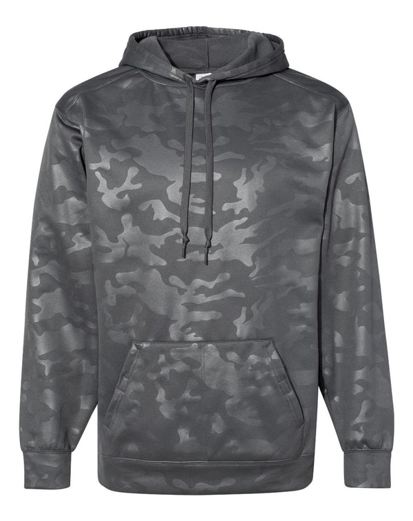 Monocam Embossed Hooded Sweatshirt-Badger-Pacific Brandwear