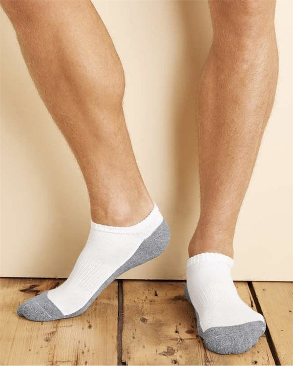 No Show Socks-Gildan-Pacific Brandwear