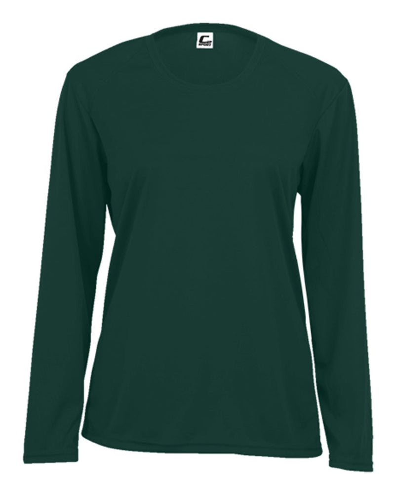 Women's Performance Long sleeve T-Shirt-C2 Sport-Pacific Brandwear