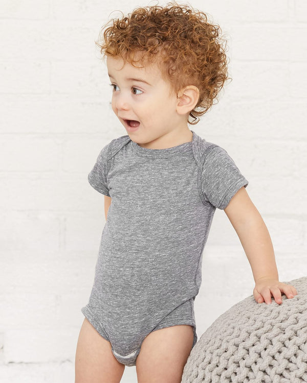 Infant Harborside Melange Bodysuit-Rabbit Skins-Pacific Brandwear