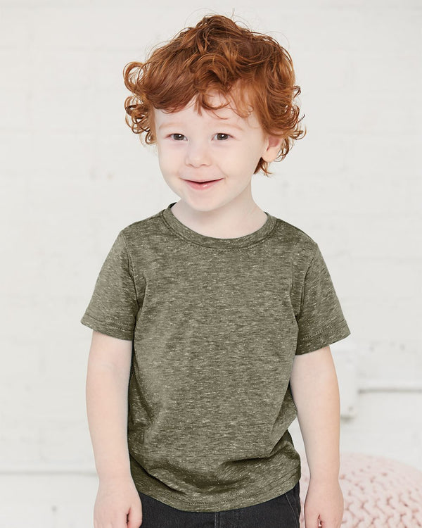 Toddler Harborside Melange T-Shirt-Rabbit Skins-Pacific Brandwear