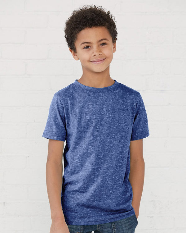 Youth Harborside Melange T-Shirt-Rabbit Skins-Pacific Brandwear