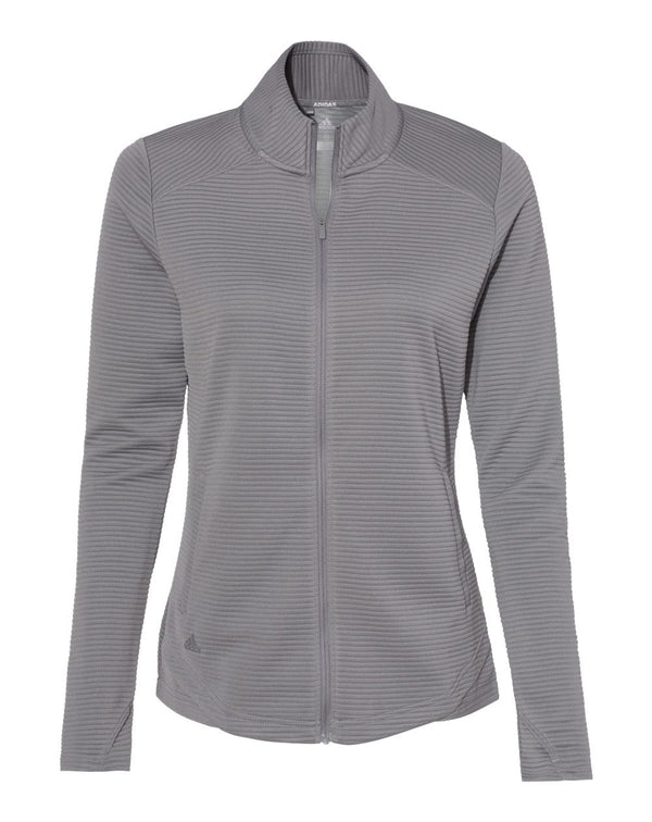 Women's Textured Full-Zip Jacket-Adidas-Pacific Brandwear