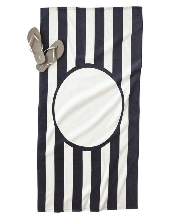 Striped Beach Towel-Carmel Towel Company-Pacific Brandwear
