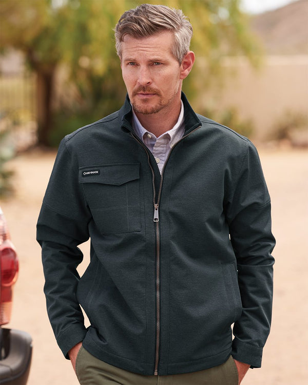 Ace Woven Stretch Soft Shell Jacket-DRI DUCK-Pacific Brandwear