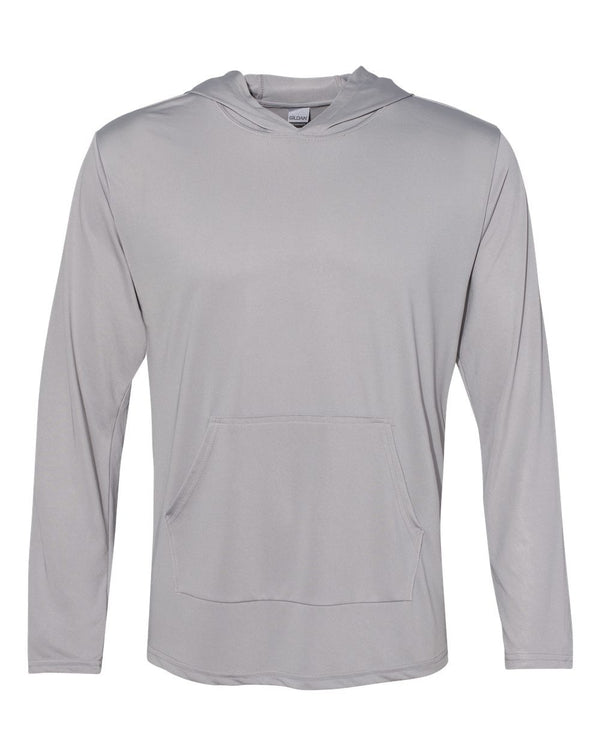 Performance Hooded Long sleeve T-Shirt-Gildan-Pacific Brandwear