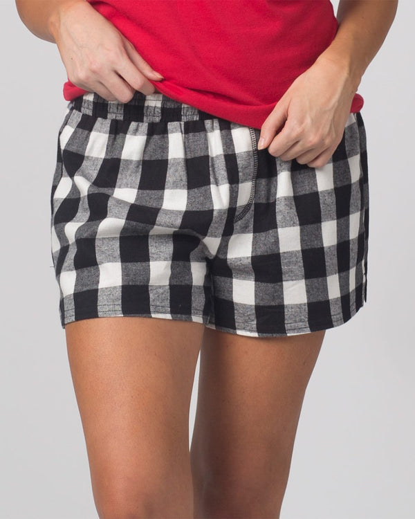 Women's Flannel Shorts-Boxercraft-Pacific Brandwear