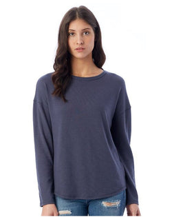 Women's Dropped Shoulder Vintage Heavy Knit Pullover-Alternative Apparel-Pacific Brandwear
