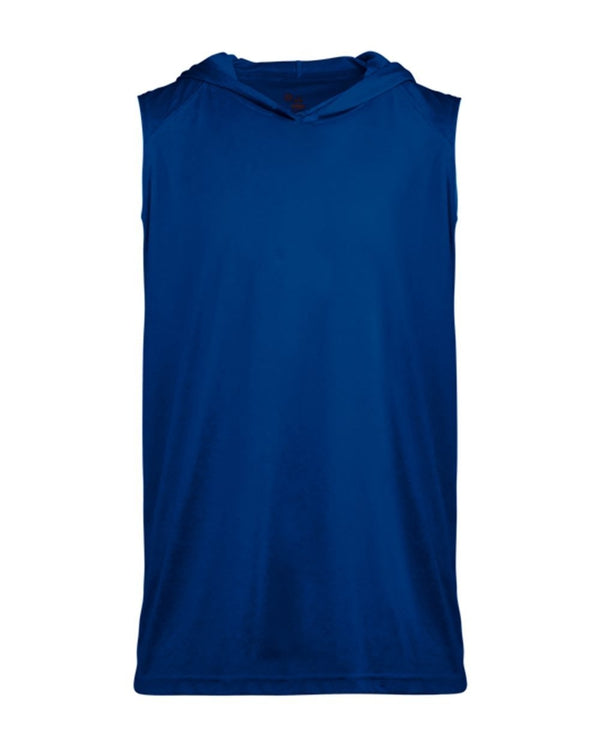 Youth B-Core sleeveless Hooded T-Shirt-Badger-Pacific Brandwear