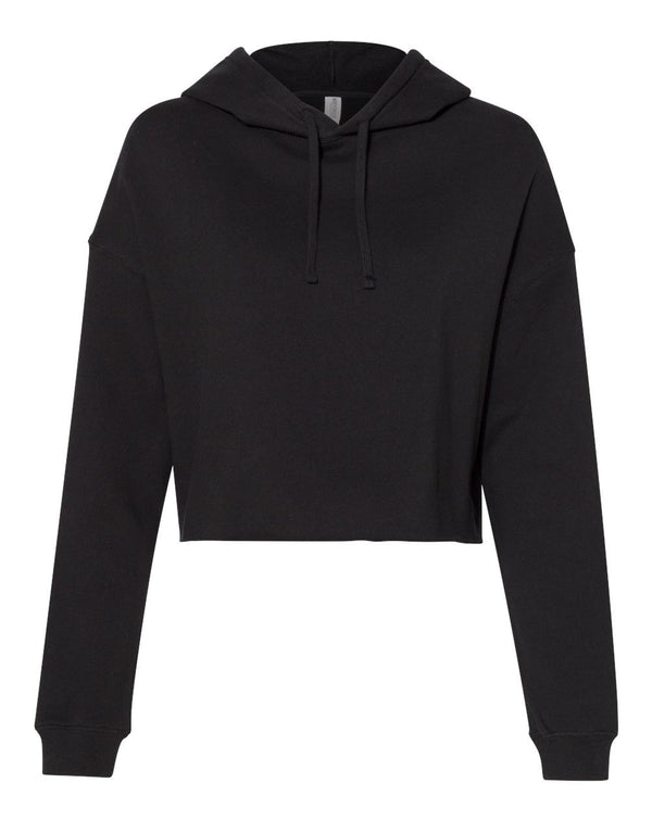 Women's Lightweight Cropped Hooded Sweatshirt-Independent Trading Co.-Pacific Brandwear