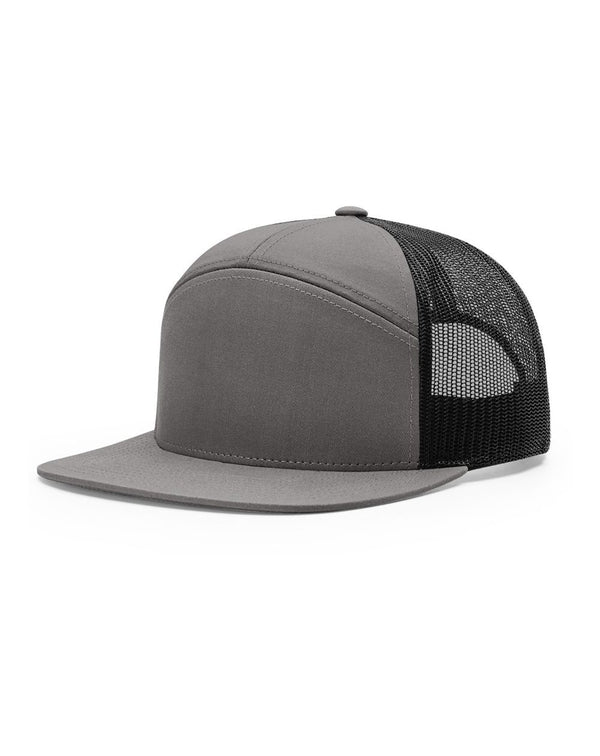 Seven-Panel Trucker Cap-Richardson-Pacific Brandwear