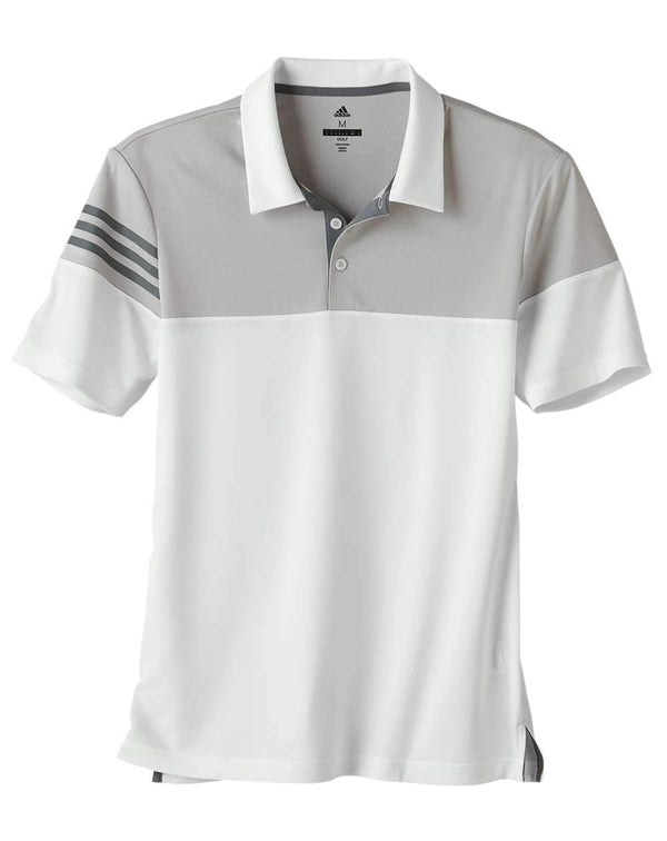 Adidas Heather 3-Stripes Block Sport Shirt-Adidas-Pacific Brandwear