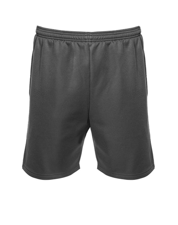 "Unisex Polyfleece 7"" Shorts-Badger-Pacific Brandwear"