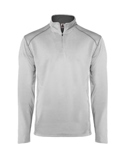 Money Mesh Quarter-Zip Pullover-Badger-Pacific Brandwear