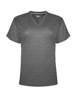 Women's Performance V-Neck T-Shirt-Badger-Pacific Brandwear