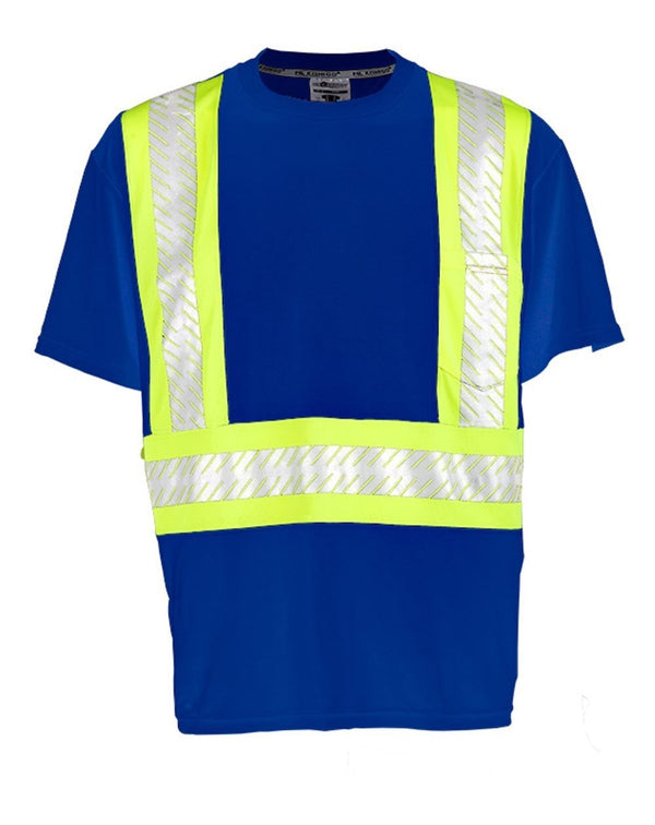 ML Kishigo Enhanced Visibility Contrast T-Shirt-ML Kishigo-Pacific Brandwear