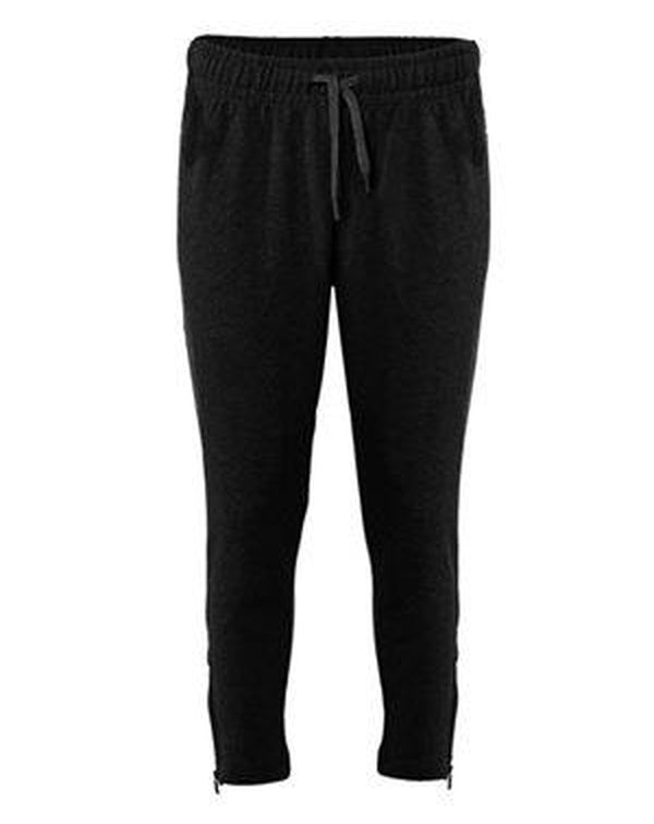 Women's Fitflex French Terry Ankle Pants-Badger-Pacific Brandwear