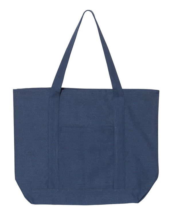 Pigment Dyed Premium XL Boater Tote-Liberty Bags-Pacific Brandwear