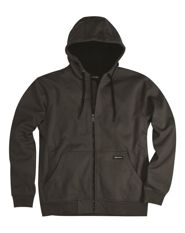 DRI DUCK Bateman Bonded Power Fleece 2.0 Full-Zip Sweatshirt-DRIDUCK-Pacific Brandwear